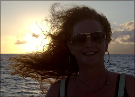 Karen-sunset